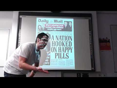 A Level Media Studies: how to analyse a newspaper front page