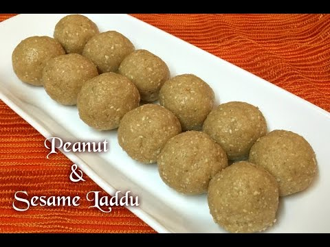 Peanut and Sesame Laddu Recipe / Sesame laddu recipe / peanut laddu recipe