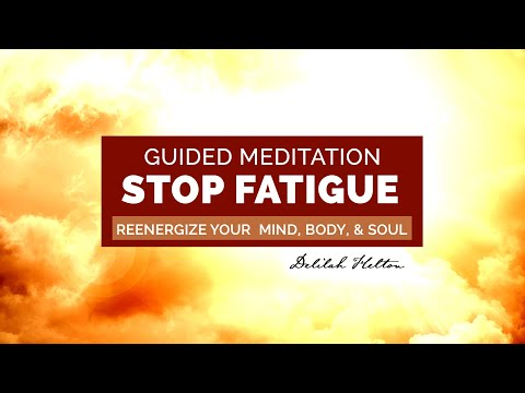 Fight Fatigue - A Quick Energy Booster To Reenergize Your Mind & Body | Guided Meditation