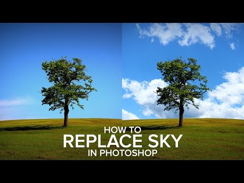 How to Replace a Sky Easily in Photoshop