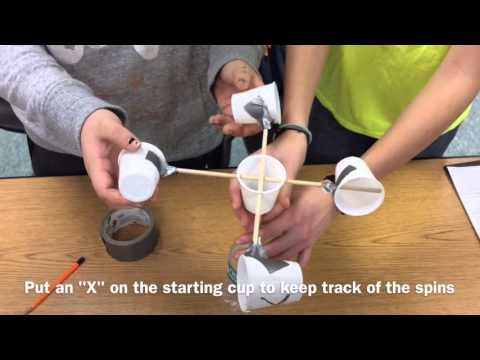 How to make an easy Anemometer