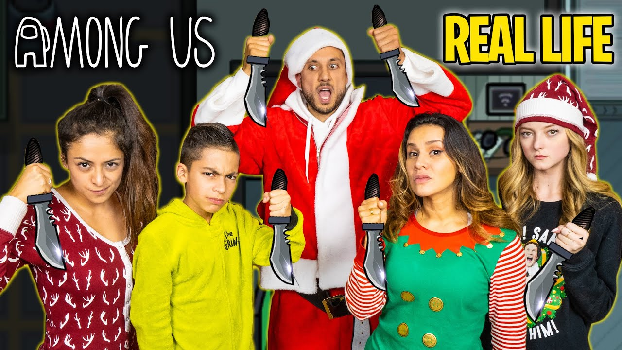 AMONG US in REAL LIFE! (CHRISTMAS EDITION) | The Royalty Family