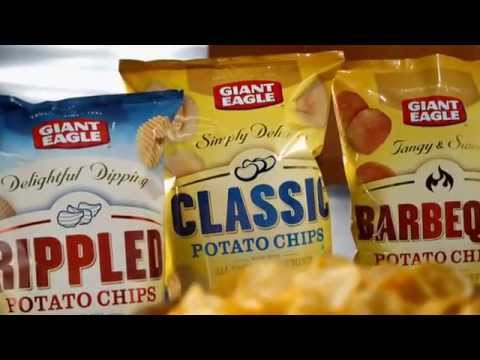 Giant Eagle® — New All Natural Potato Chips