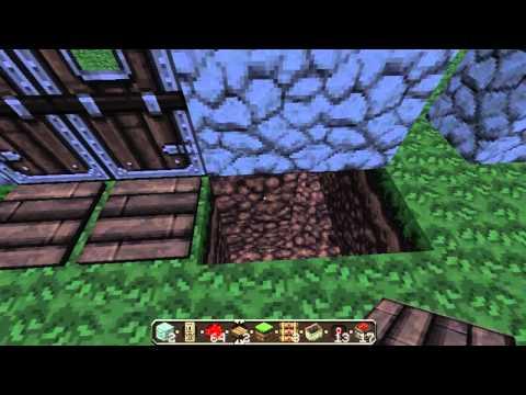 Minecraft 1.7.9 Double Door Tutorial