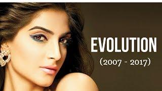 Sonam Kapoor Evolution (2007 - 2017)