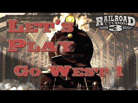 Let's Play: Railroad Tycoon 3 Go West 1 [Deutsch/HD]