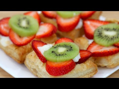 PUFF PASTRY FRUIT TART!