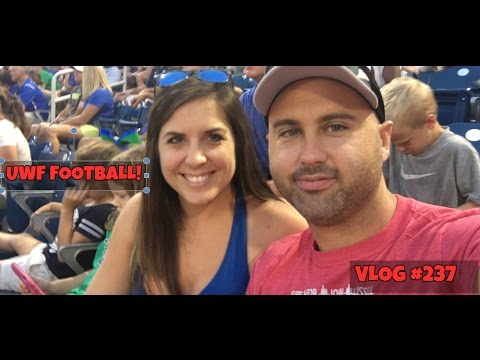 VLOG #237- Garage Sale Time & UWF Football!!!! Pensacola, Florida