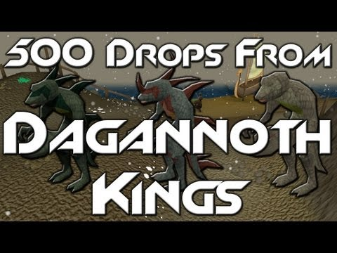 500 Drops From: Dagannoth Kings