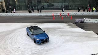 """2018 Toyota Camry """"Thrill Ride"""" at the NY Auto Show"""