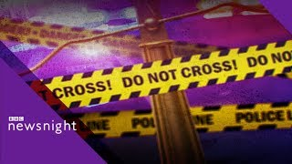Crime pledges: Where's the money coming from? - BBC Newsnight