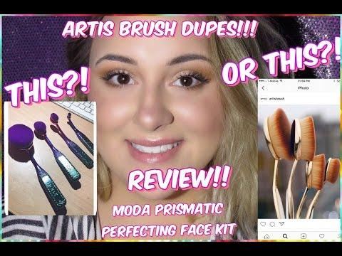 ARTIS BRUSH DUPES!! | Moda Brush Review |