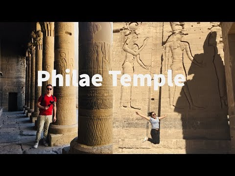 Philae Temple - Exploring the temple of Isis - Aswan  Egypt temples
