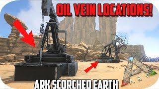 Oil Vein Locations (ARK Scorched Earth) | Daikhlo