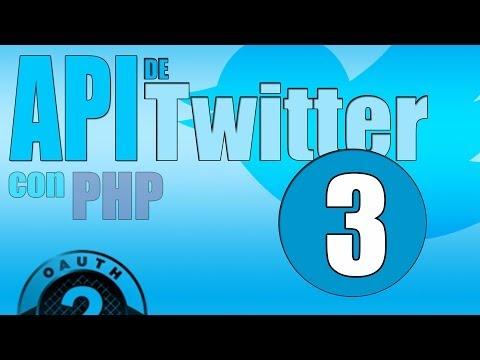 Curso API de Twitter con PHP #3: Obtener el token del usuario y verificarlo