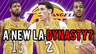 What If LONZO BALL is Drafted By The LAKERS?