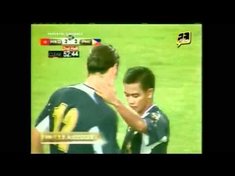 Philippine Azkals vs Hong Kong at 2011 Long Teng Cup -