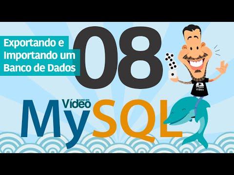 Curso MySQL #08 - Gerenciando Cópias de Segurança MySQL