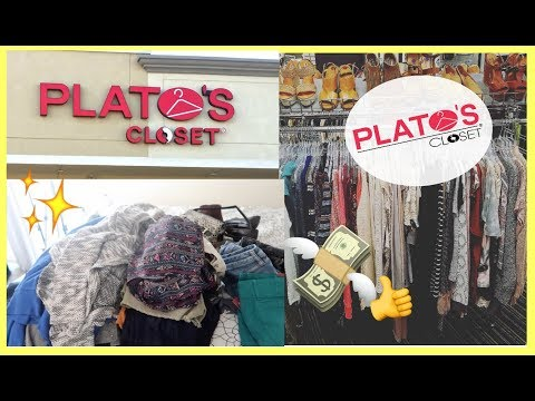 FIRST TIME SELLING MY CLOTHES AT PLATO'S CLOSET | What I offered VS What they bought from me