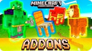 Minecraft PE Addons - Wither Storm, Lucky Blocks, Polar
