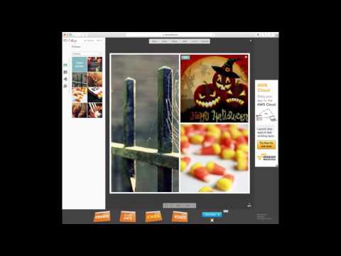 How To Make A Collage On A Mac *Halloween Version*