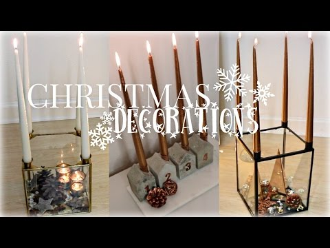VIDMAS 2015 | Dec 11, DIY Christmas Decorations & Advent Wreaths