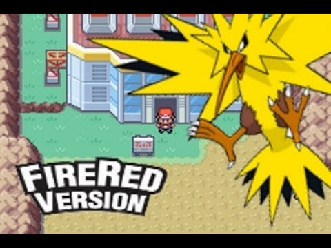 How to catch Zapdos in Pokemon Fire Red/Leaf Green