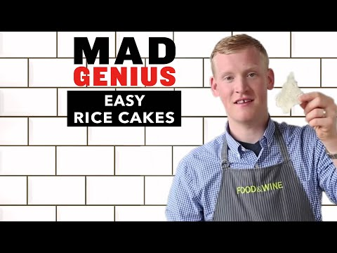 How to Make Easy Rice Cakes Like Kristen Kish | Mad Genius Tips |  Food & Wine
