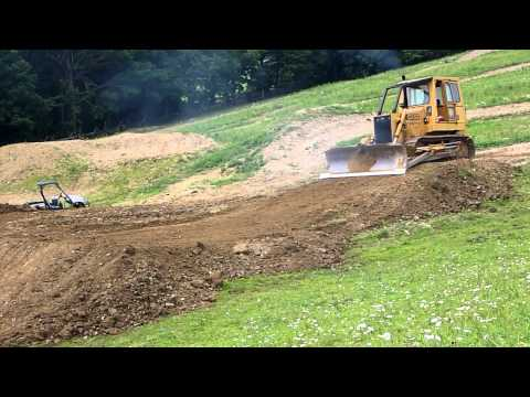 Case 1450 Building Motocross Track