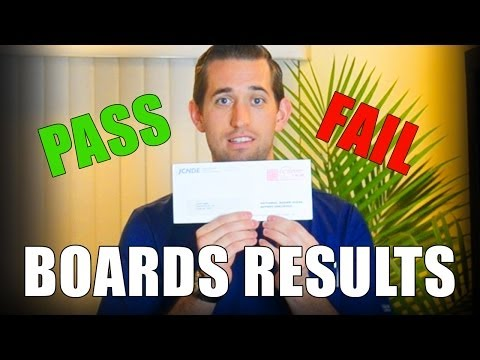 Boards Results: NBDE Part 1