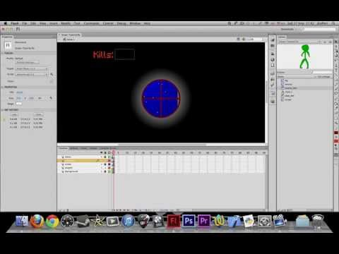 How to make a sniper game in Flash (CS3 or greater) - Part 4