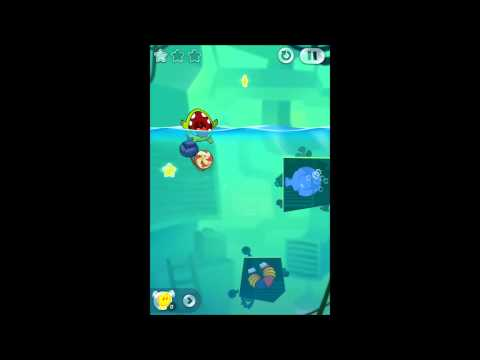 Cut The Rope 2 Underground 5-9 to 5-16 Medals Walkthrough
