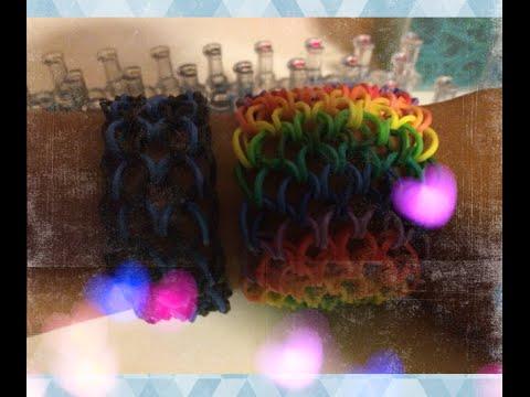 Dragon scale Tutorial On A Rainbow Loom