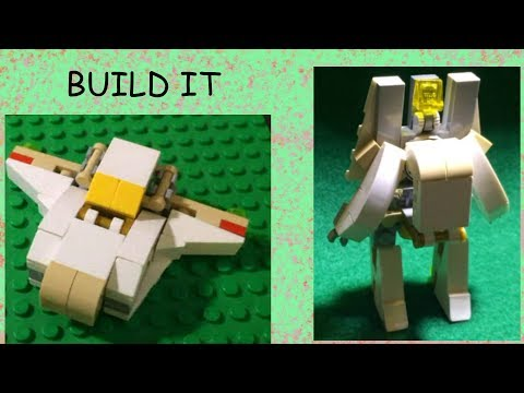 Lego Transformers Tutorial: Stealth Starship (