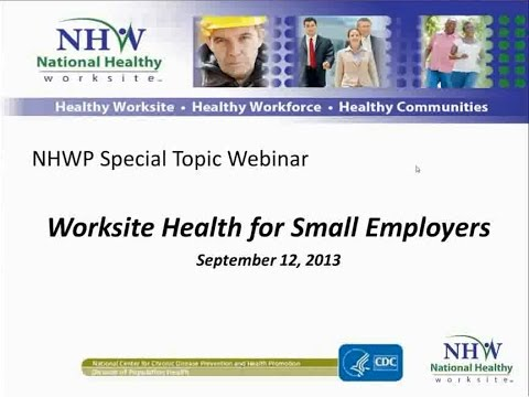Worksite Health for Small Employers
