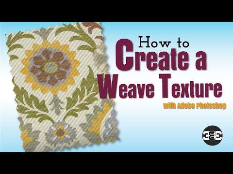 How to Create a Weave Texture for Fashion Design in Adobe Photoshop