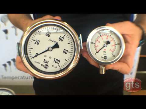 Why is there liquid Glycerine in my Pressure Gauge  from GTS Gauges Transmitters Switches