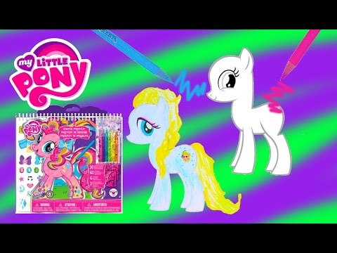 My Little Pony Sketch Portfolio Create Custom MLP Ponies Art Drawing Set Video Cookieswirlc