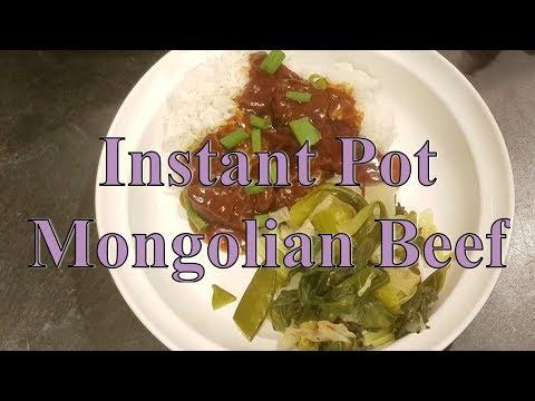 Instant Pot-Mongolian Beef