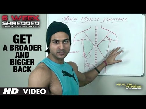 Get a Broader and Bigger Back | Health and Fitness Tips | Guru Mann | Workout Tips