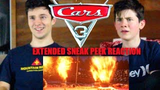 Cars 3 Extended Sneak Peek: Our Reaction