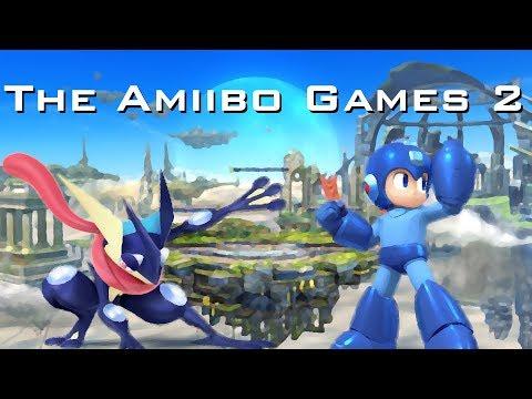 The Amiibo Games 2 - Round 1 Set 7   Kermit (Greninja) vs. Mega Mango (Mega Man)