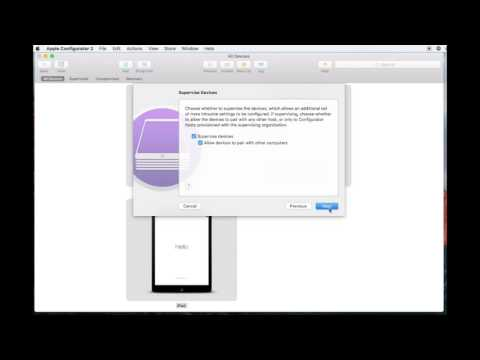 Apple Configurator 2 - How to Prepare and Supervise Multiple iPads