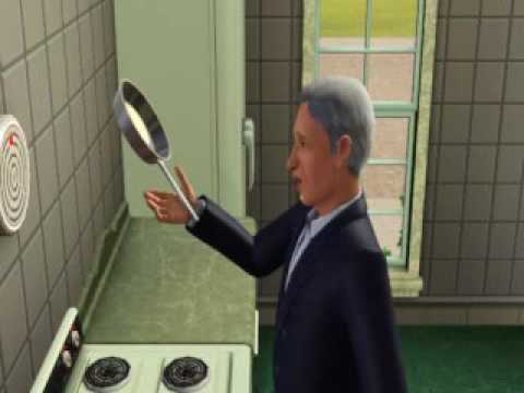 How the French make pancakes, according to The Sims 3