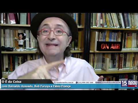 Reinaldo Azevedo: Bob Furuya e Fábio Cuba não tomam nem cloroquina nem chá de picão