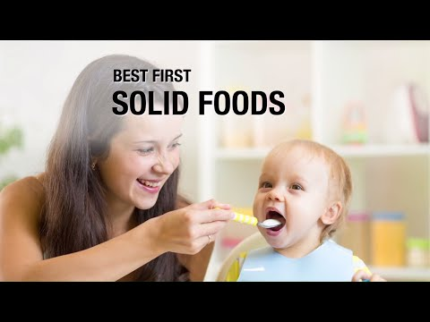 Best introductory baby foods