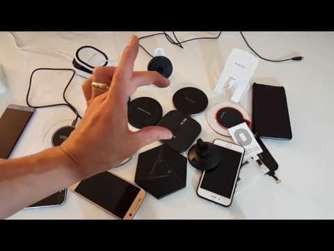 My Collection of Wireless Qi Charging Pads for iPhones, Galaxy Phones etc.