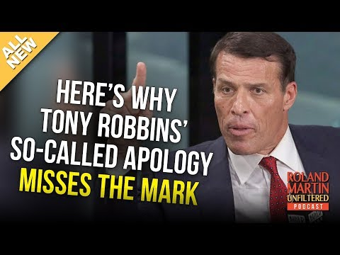 Here's Why Tony Robbins' So-Called Apology Misses The Mark