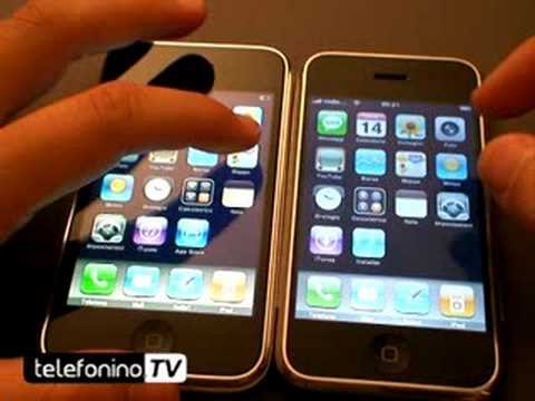 iPhone 3G VS iPhone 2G confronto da telefonino.net