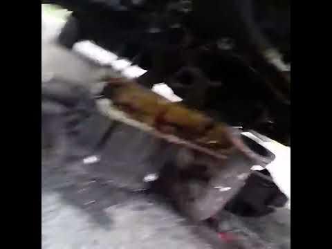 99 maxima upper oil pan removing